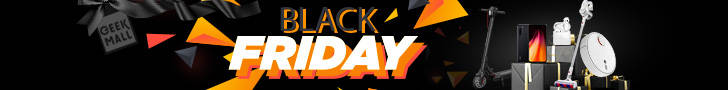 Banner Black Friday Geekmall