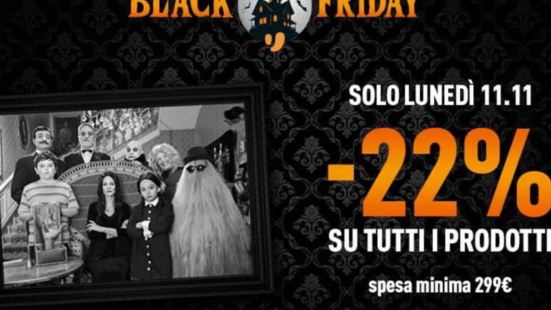 Addams Black Friday su Unieuro: solo oggi il 22% in meno su tutto il catalogo!