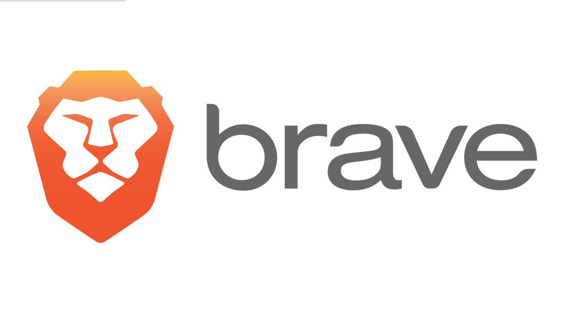 Brave logo browser