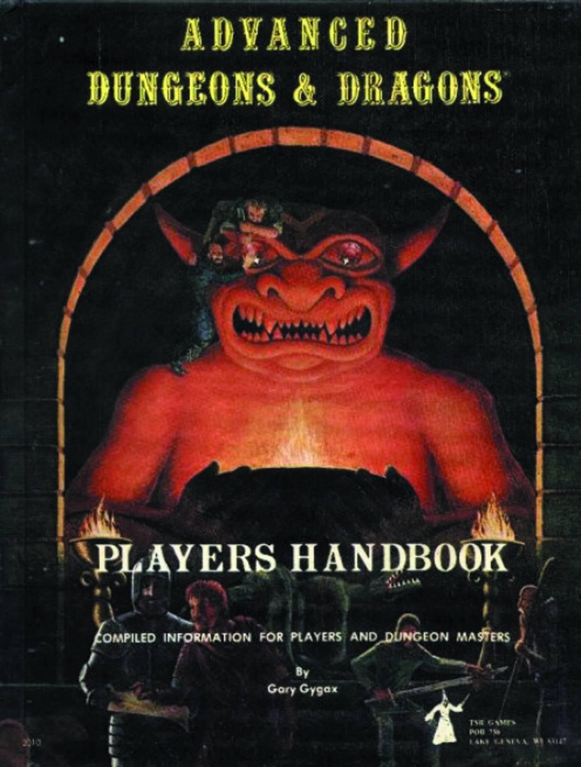 D&D Players Handbood