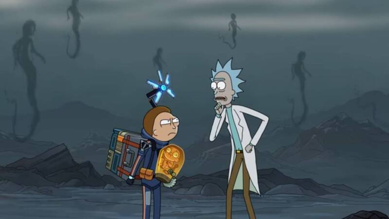 Death Stranding, anche Rick e Morty impegnati nella promozione