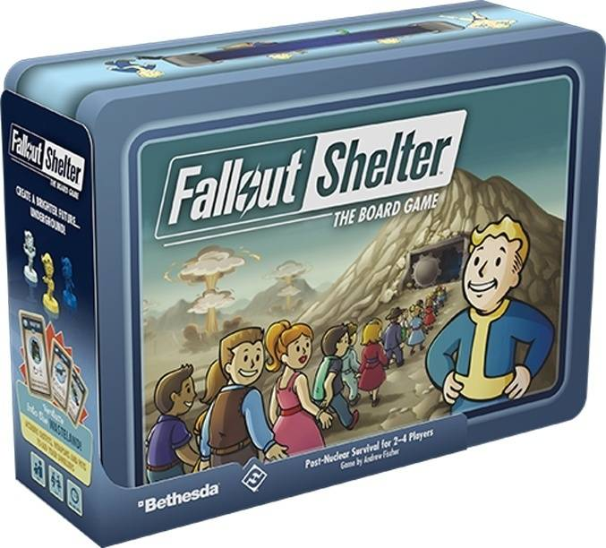 Fallout Shelter: The Boardgame
