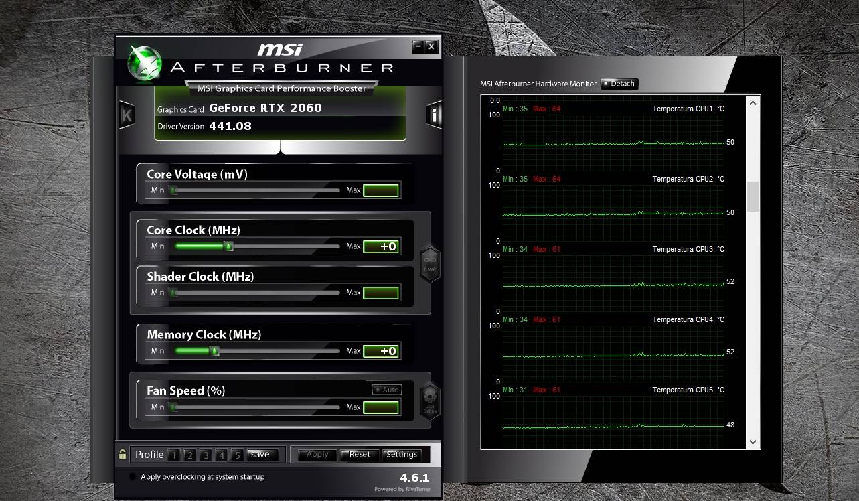MSI Afterburner CPU 3