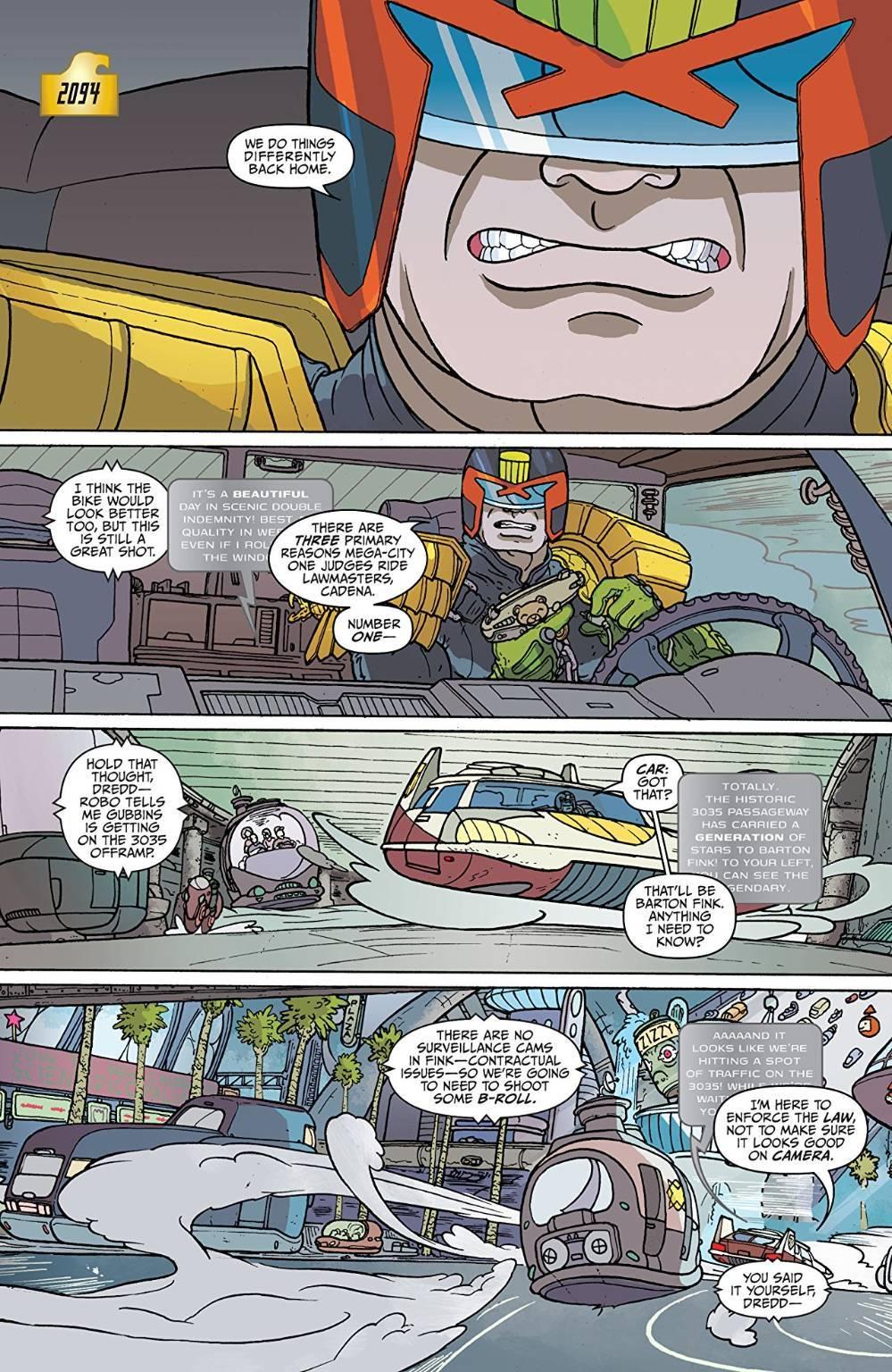 fumetti cyberpunk
