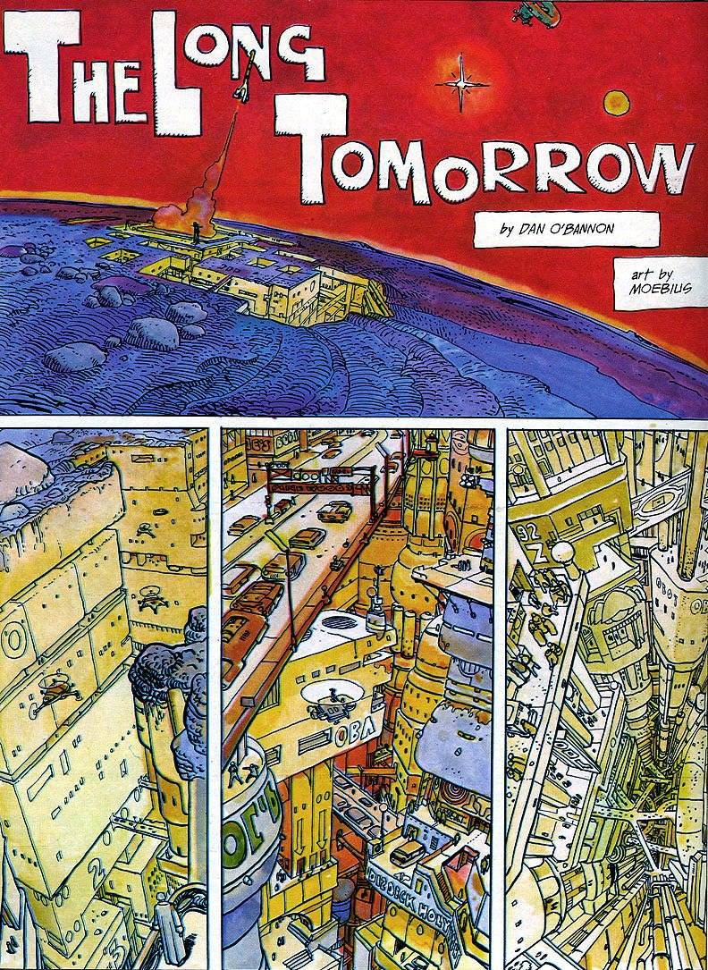 fumetti cyberpunk  the long tomorrow