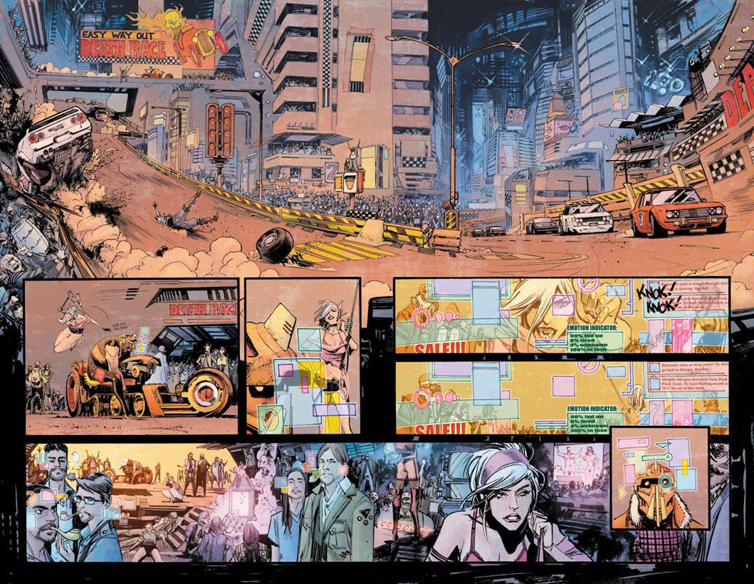fumetti cyberpunk tokyo ghost