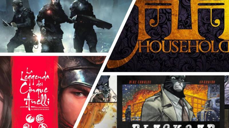 Lucca Comics & Games 2019: i Giochi di Ruolo da non perdere