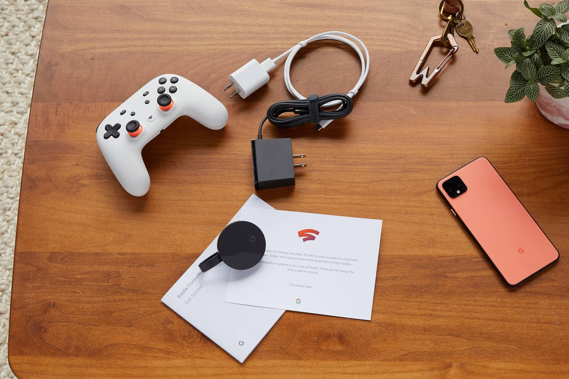 Google Stadia device senza box