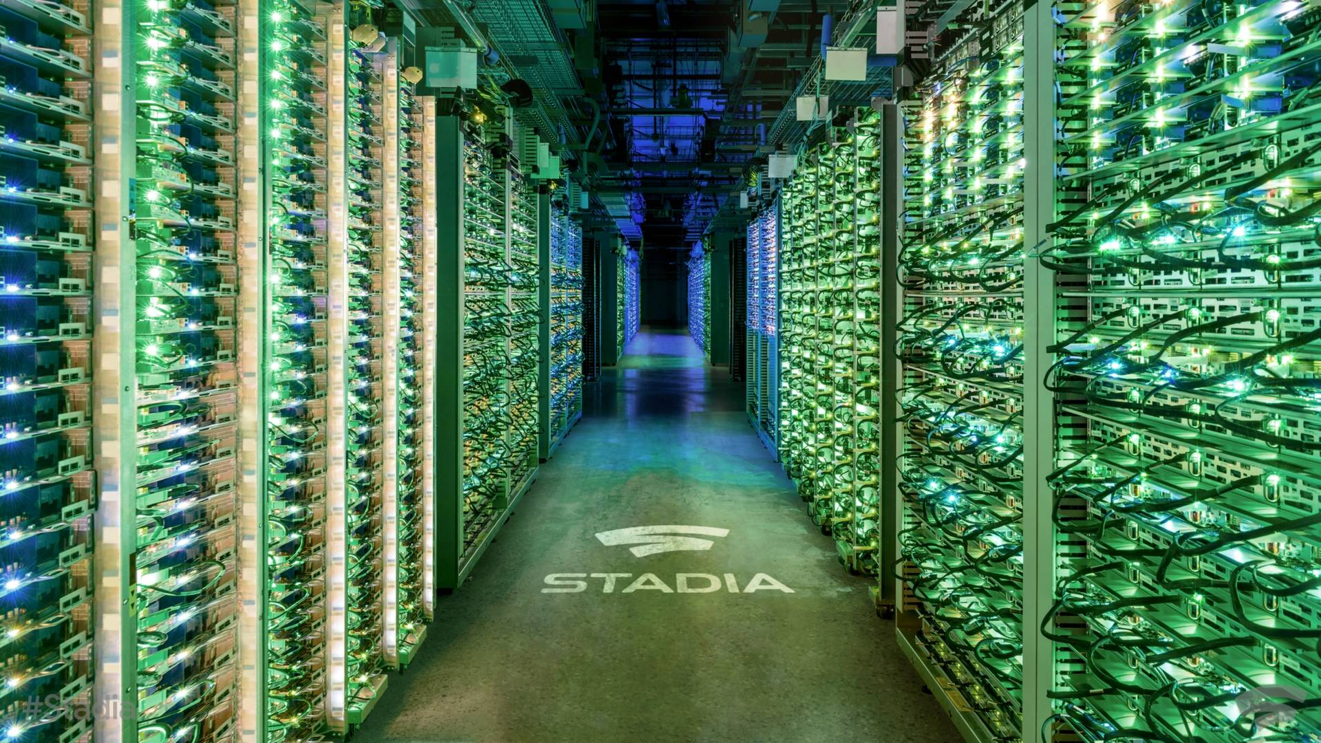 Google Stadia data center verde