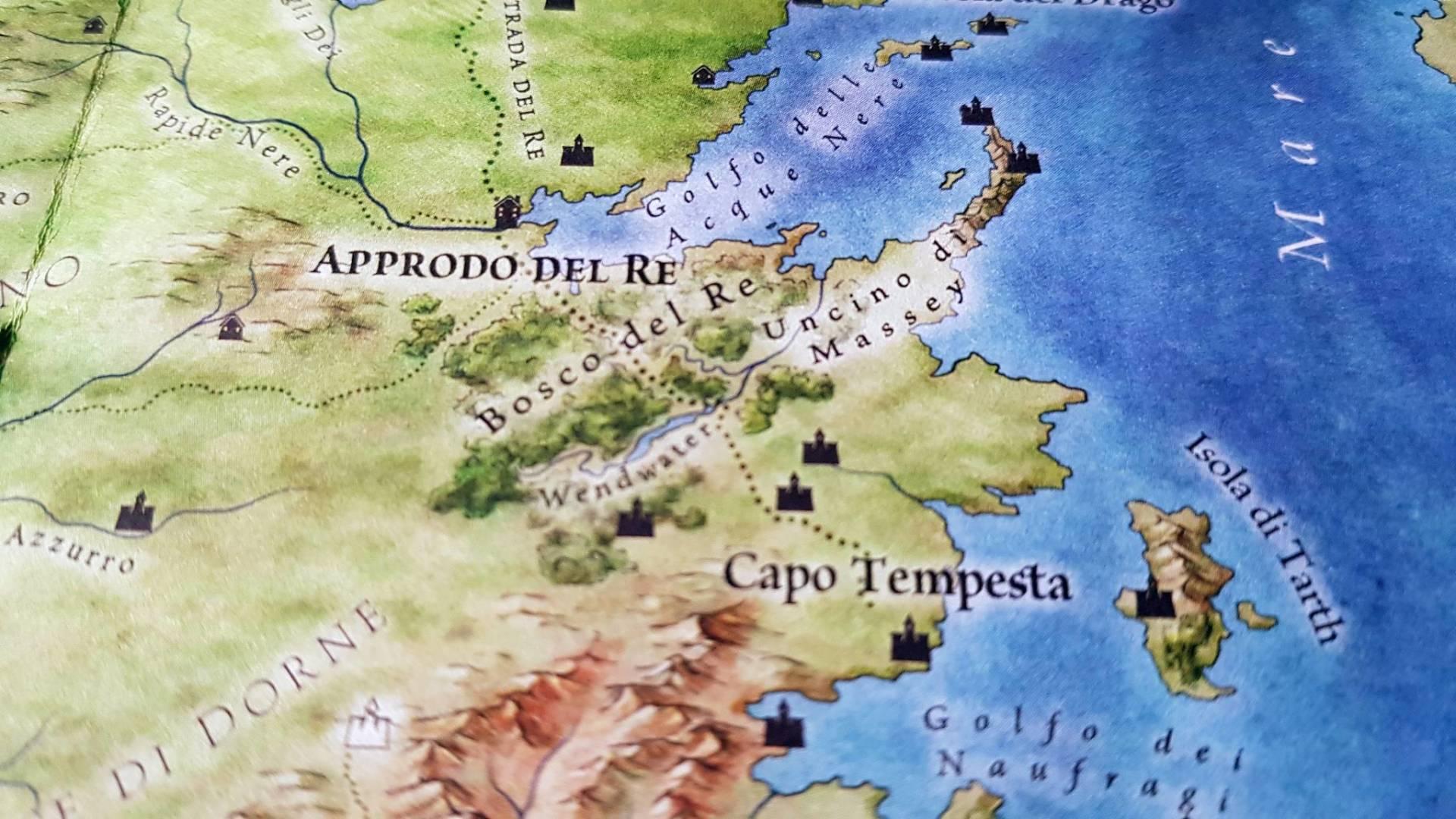 Le terre del Ghiaccio e del Fuoco