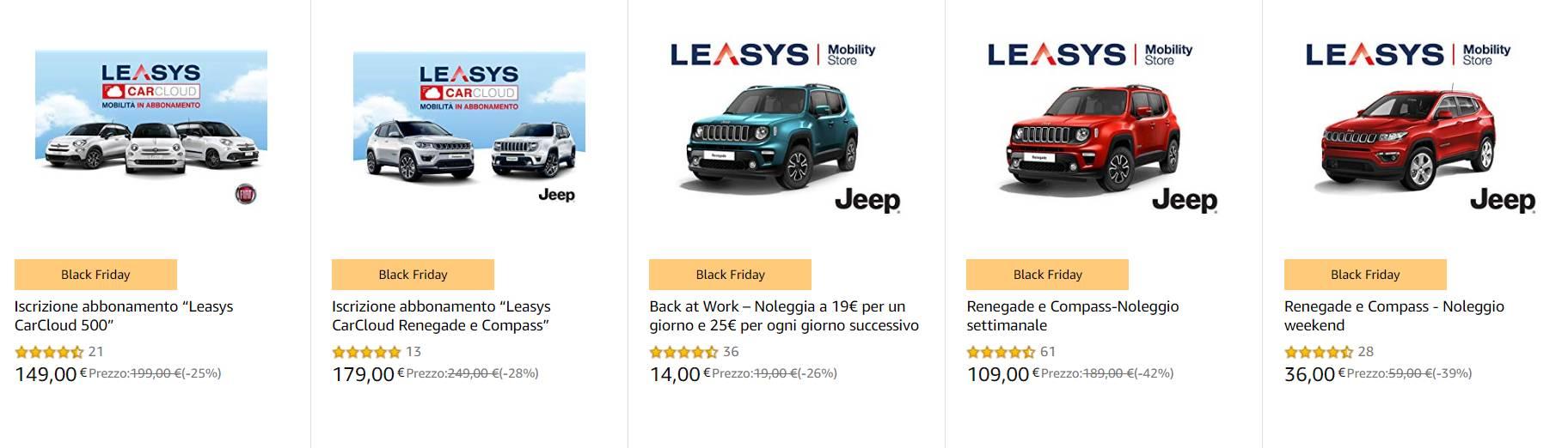 Leasys Amazon
