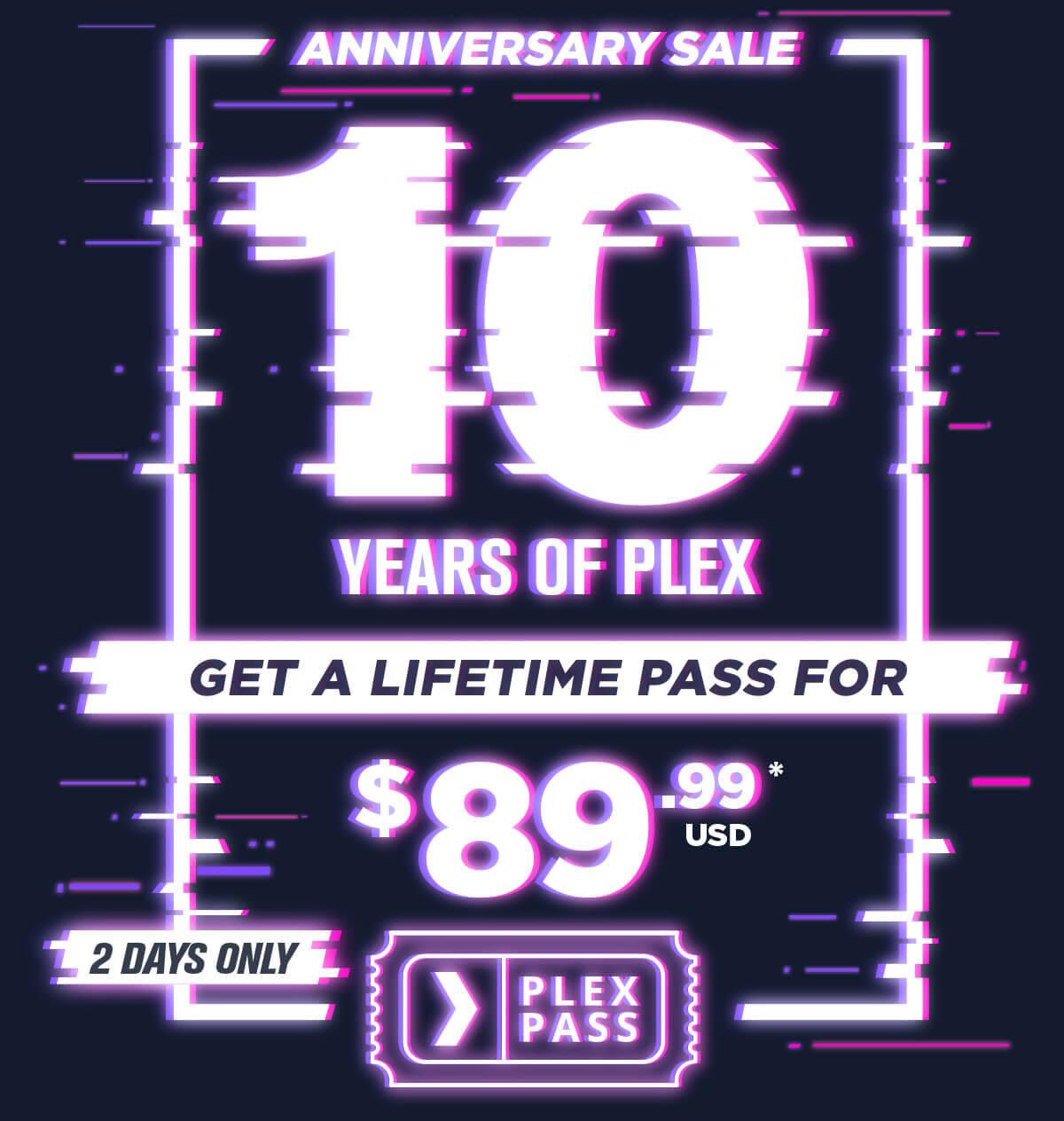 Plex Pass offerta