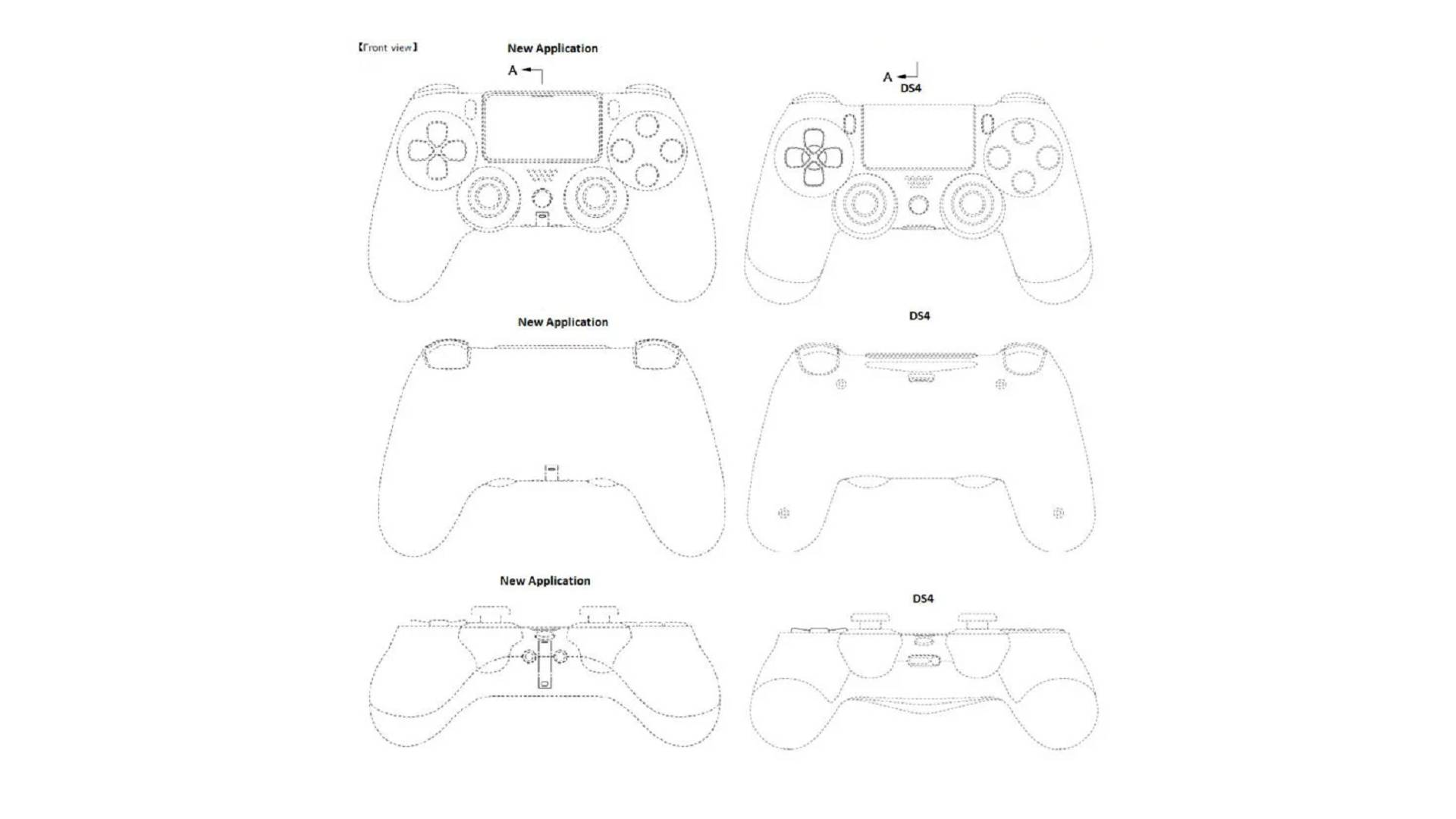 PS5 PlayStation 5 dualshock 4 dualshock 5 brevetto