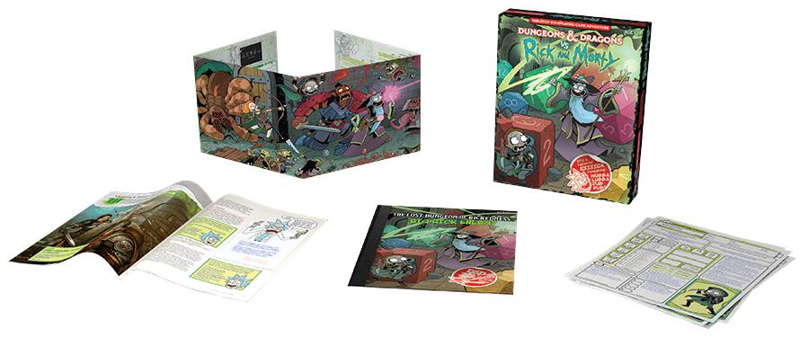 Rick and Morty Dungeons & Dragons Starter Set