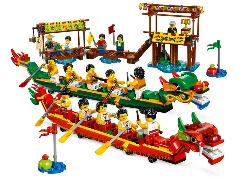 set Lego in ritiro