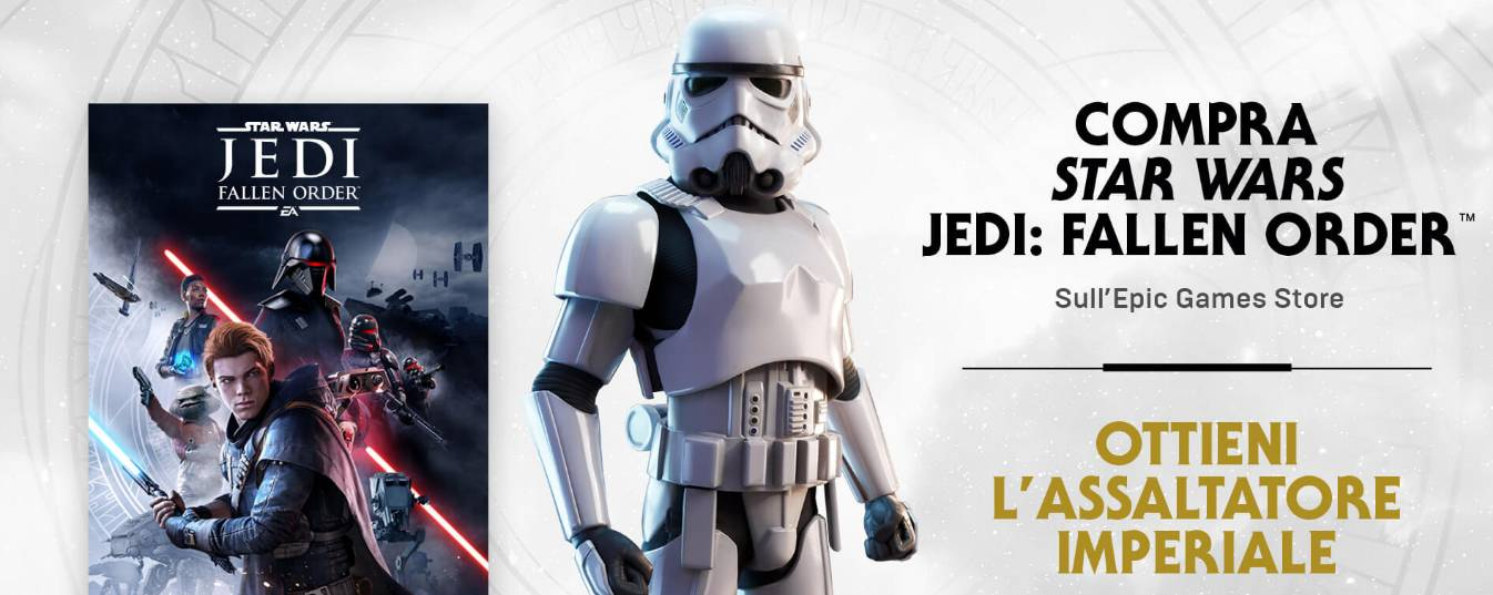 Star Wars Jedi Fallen Order Skin Fortnite Epic Games Store