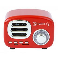 techly speaker rosso