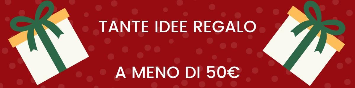 banner idee regalo 50 euro
