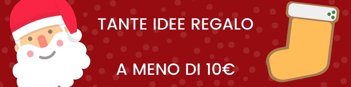 Banner idee regalo 10€