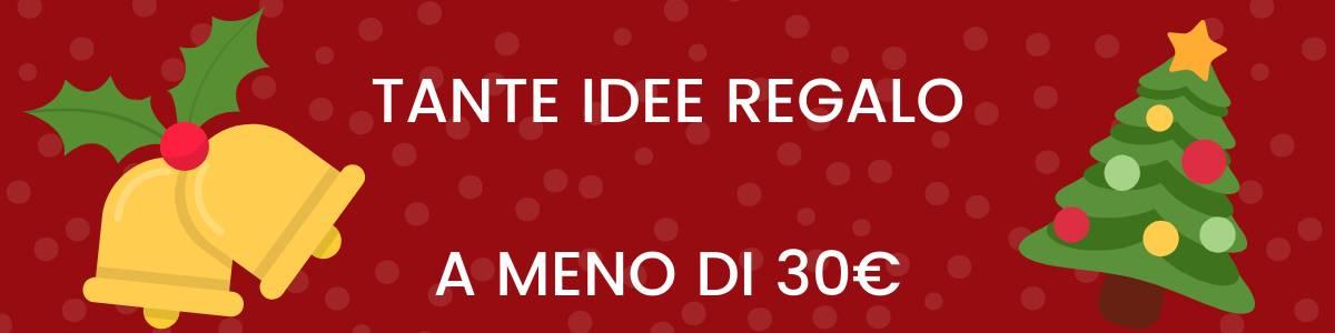 Banner idee regalo 30€