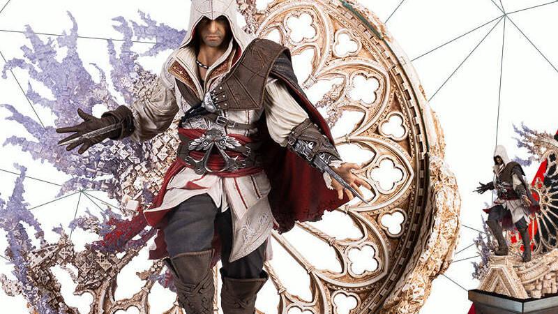 Ezio Auditore Assassin S Creed La Statua Di Pure Arts