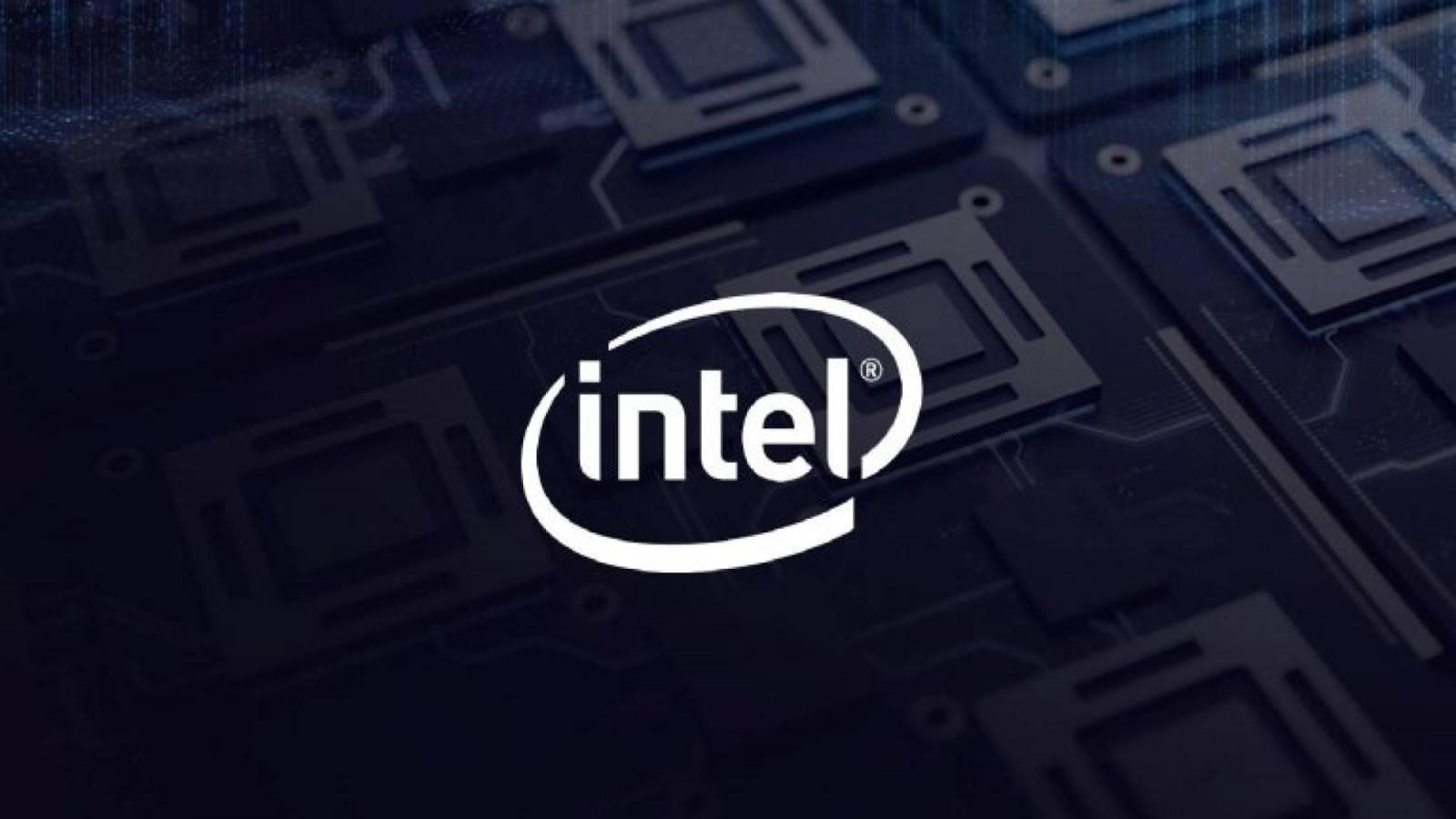 Intel logo Copertina
