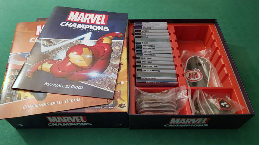 Marvel Champions: il gioco di carte