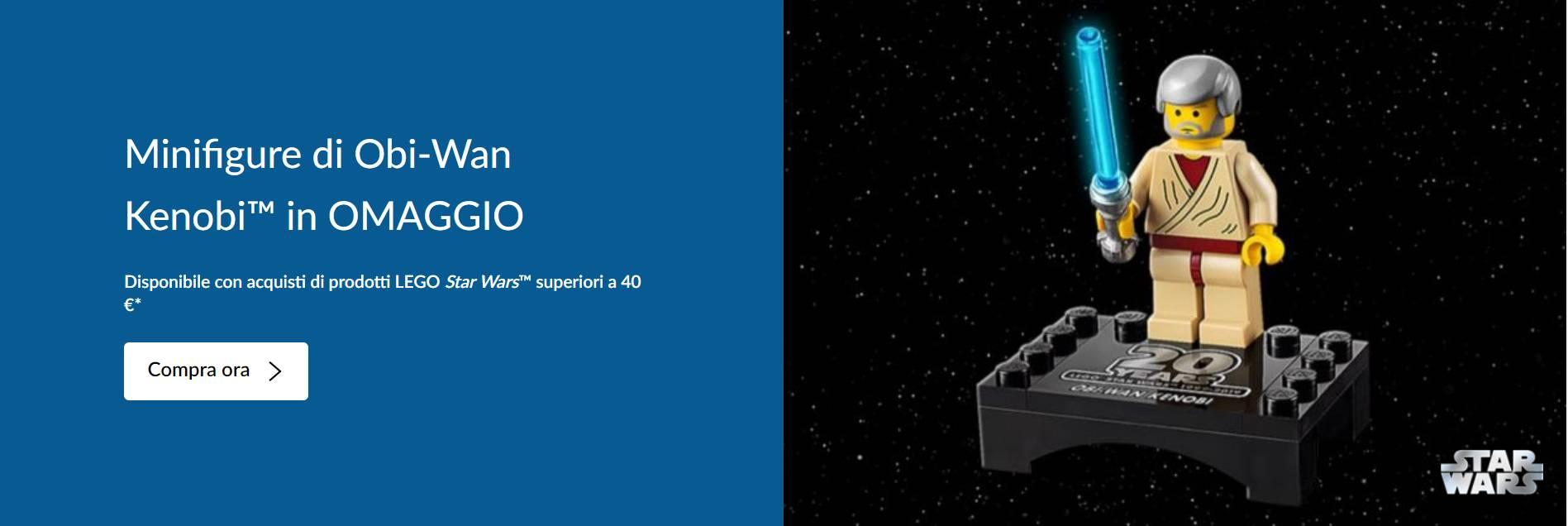 Obi Wan Kenobi Lego