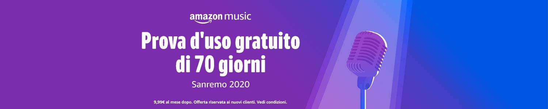 70 giorni di Amazon Music