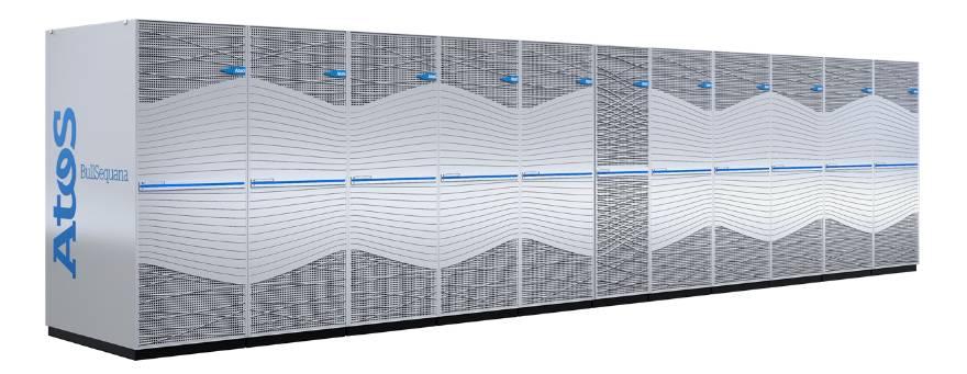 Atos supercomputer bullsequana xh2000