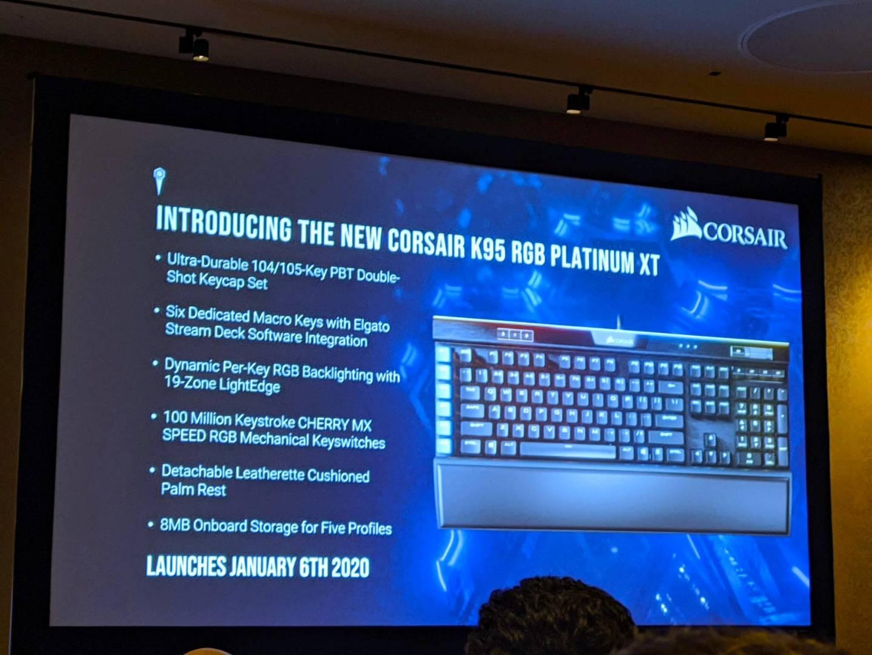 Corsair K95 RGB Platinum XT