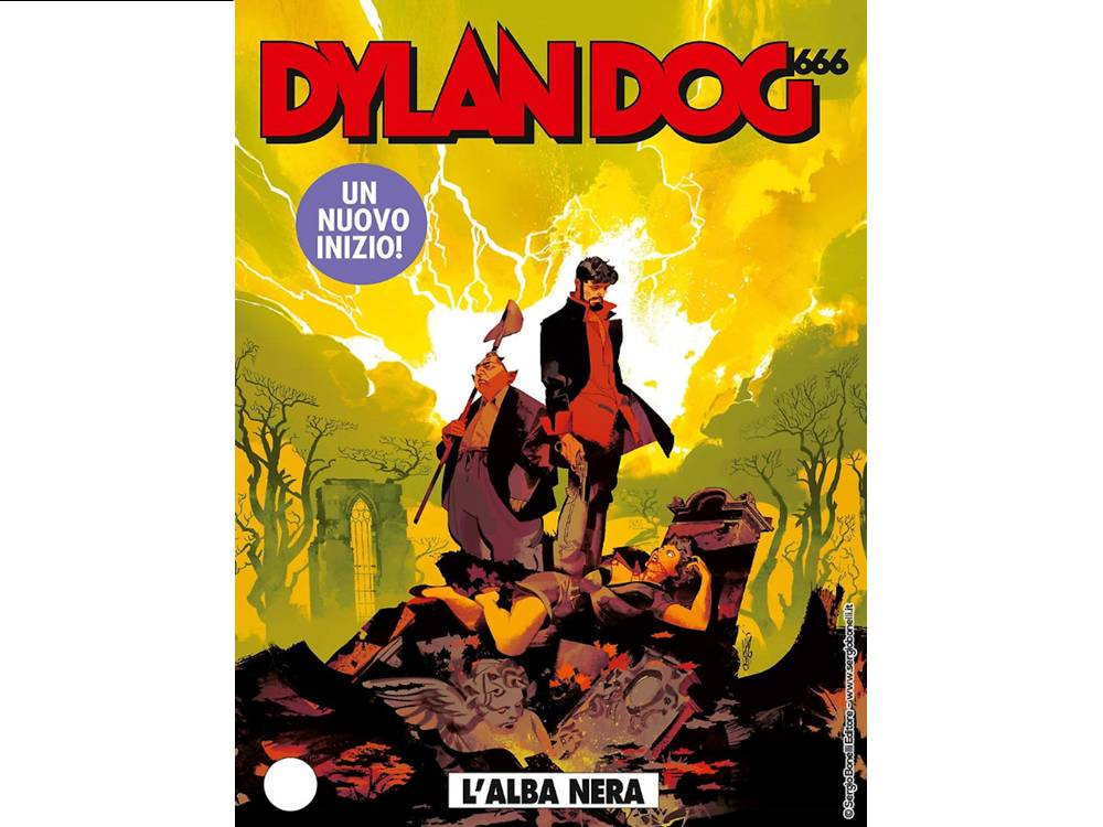 Dylan Dog 401 L'Alba Nera