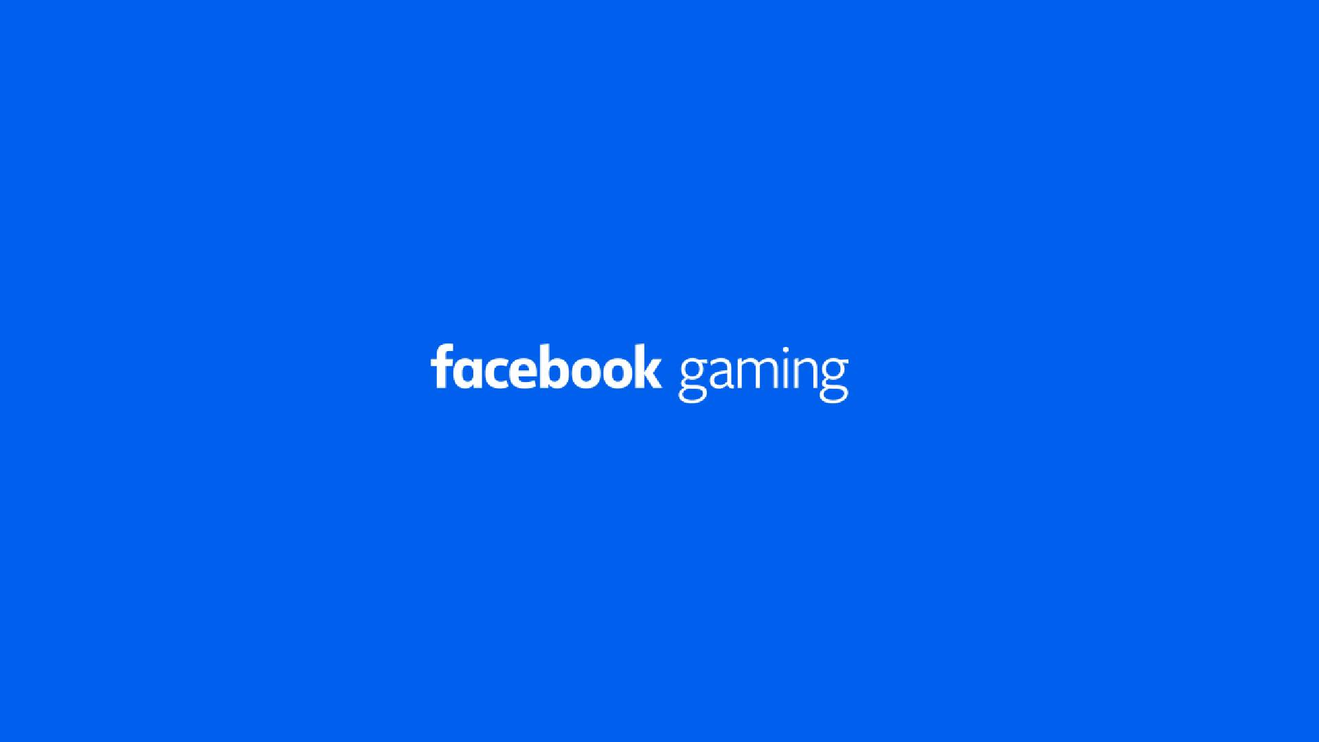 Facebook Gaming logo