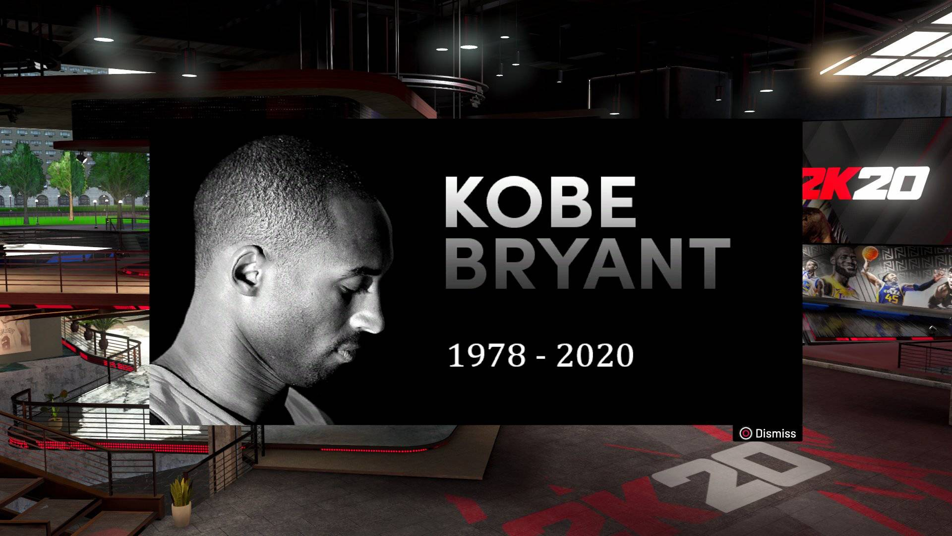 Kobe Bryant NBA 2K20
