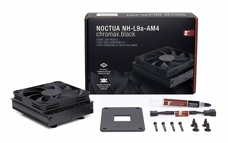 Noctua NH-L9a-AM4 chromax black