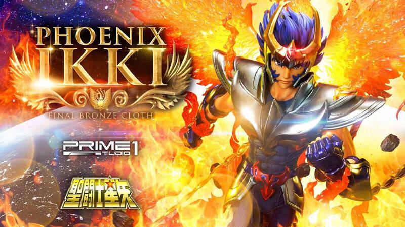 "Ikki Phoenix ""Final Bronze Cloth"" da Prime 1 Studio"