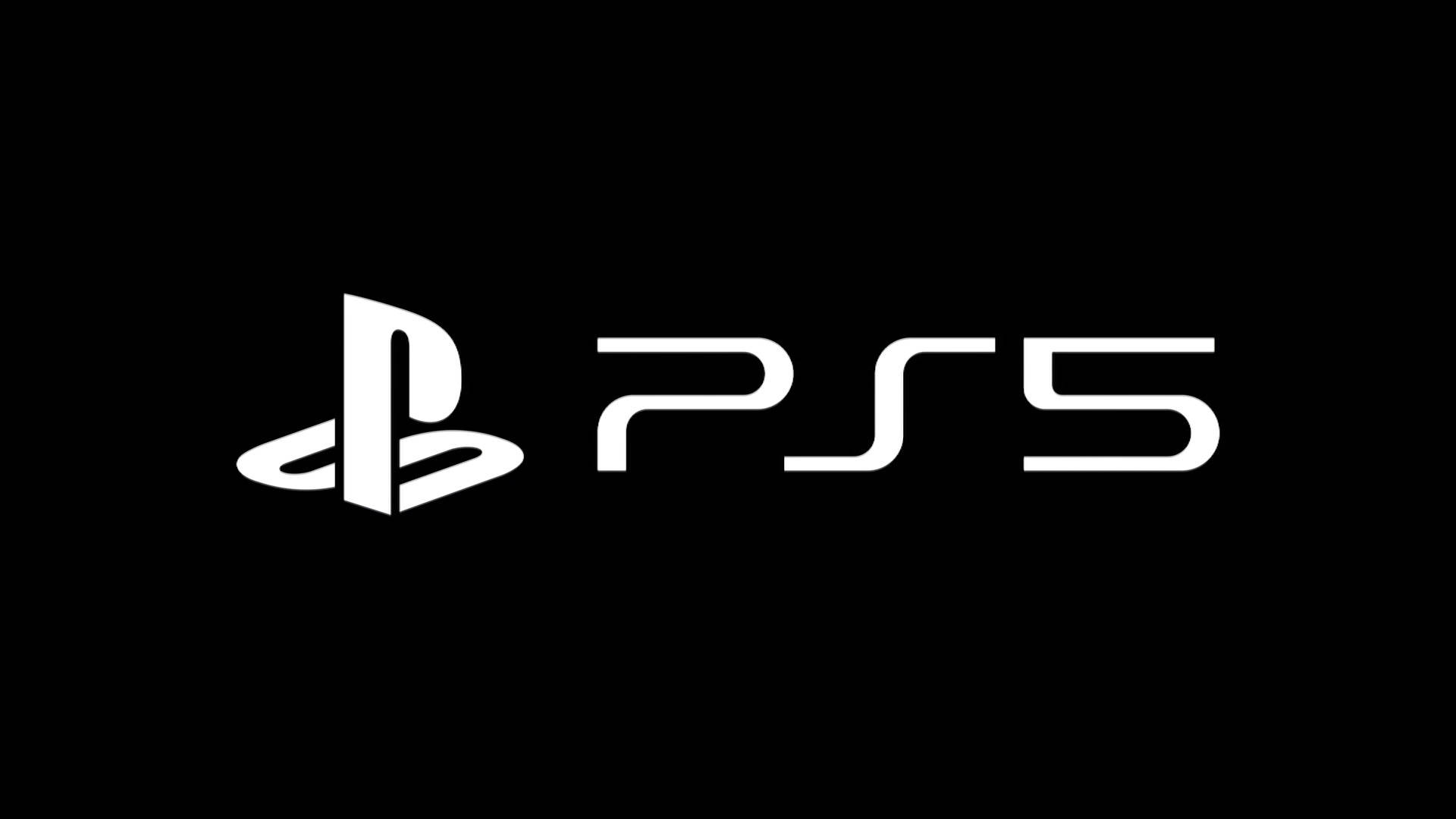 PS5 PlayStation 5 Logo nero