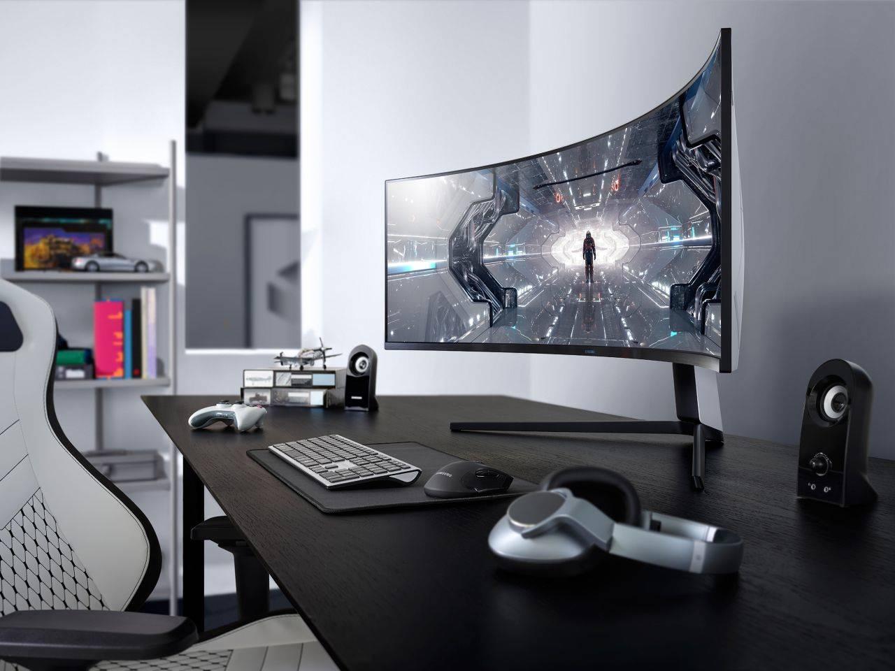 Samsung Odyssey G9 G7 CES 2020