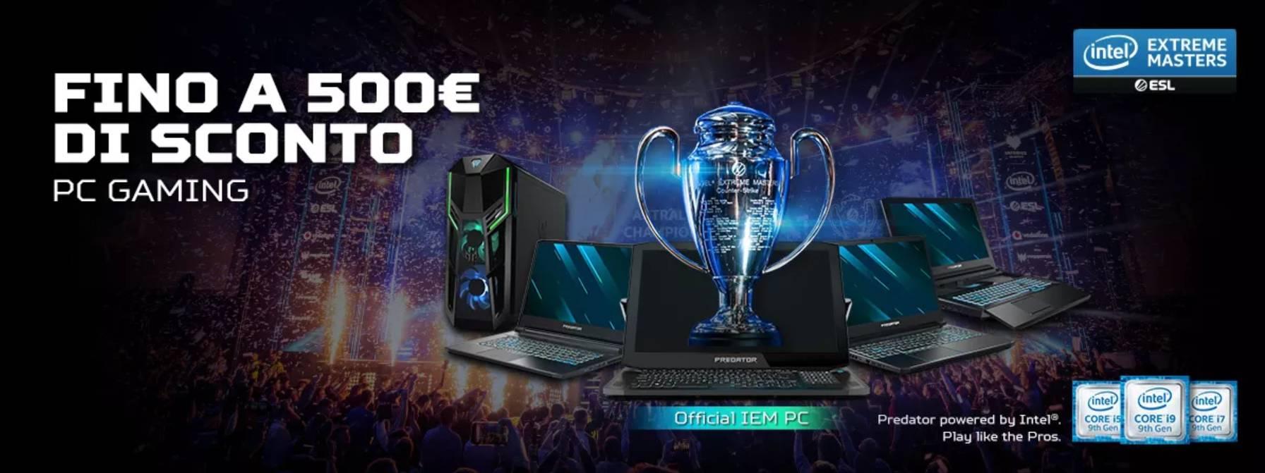 Banner offerta Acer - Febbraio 2020