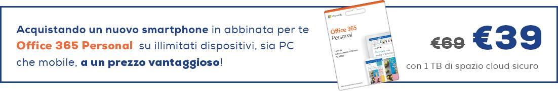 Banner offerta Euronics - smartphone