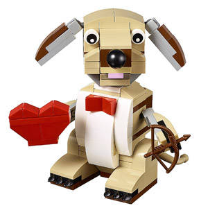 cagnolino cupido lego