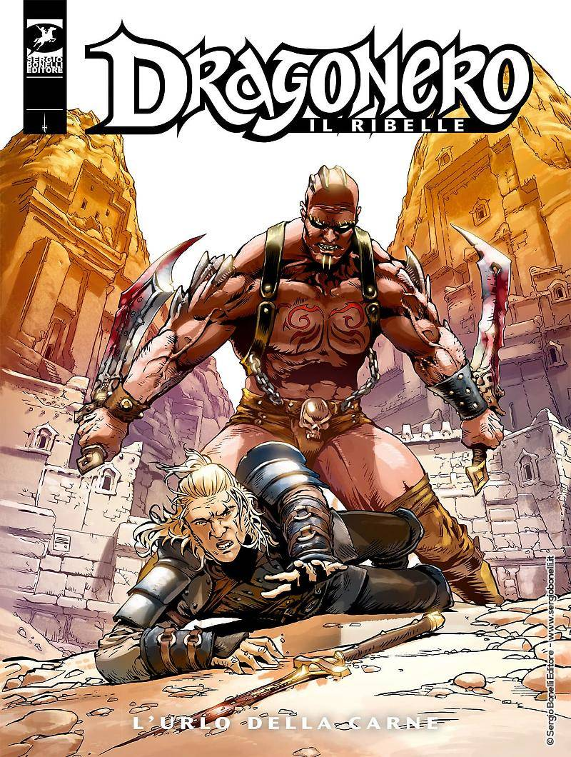 dragonero  4 copertina