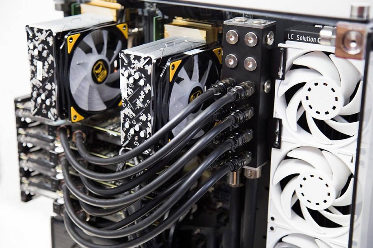 EK Manifold build