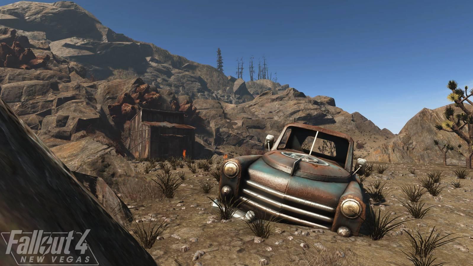 Fallout 4 New Vegas MOD