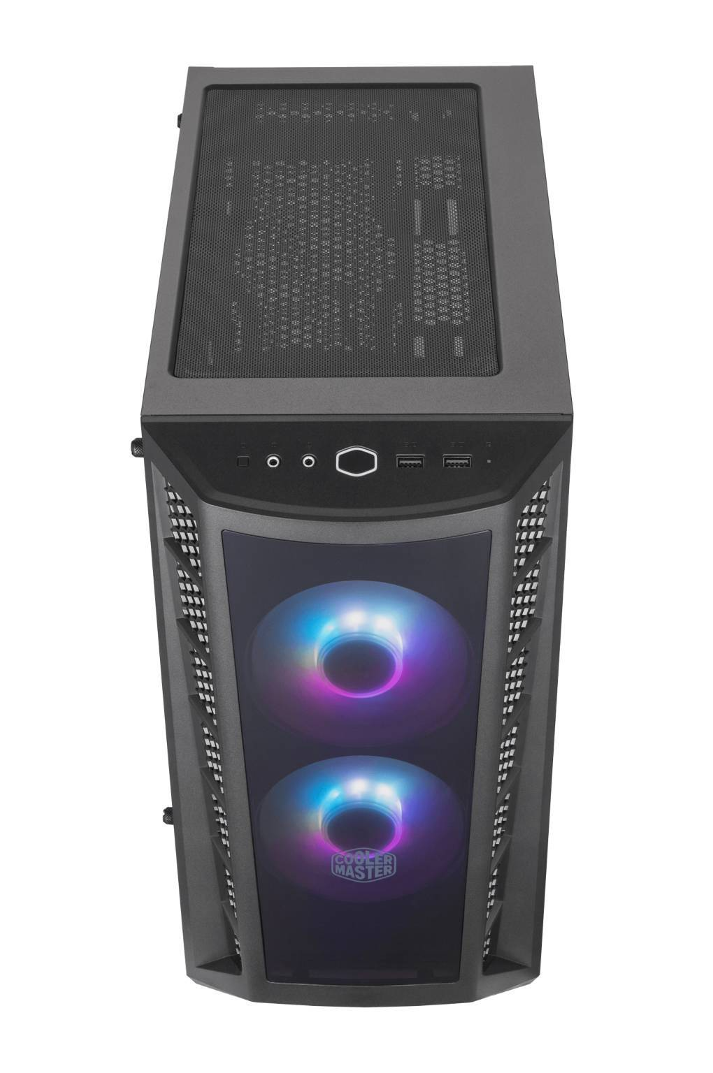MasterBox MB320L front panel top