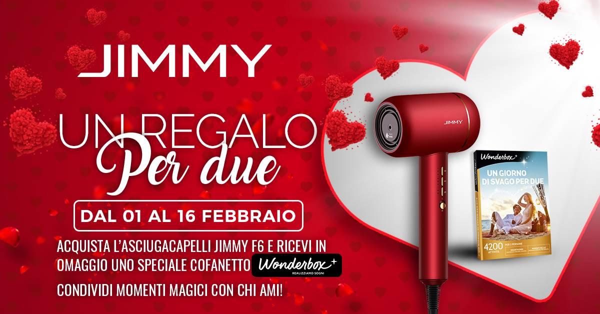 Offerta Jimmy F6 - San Valentino
