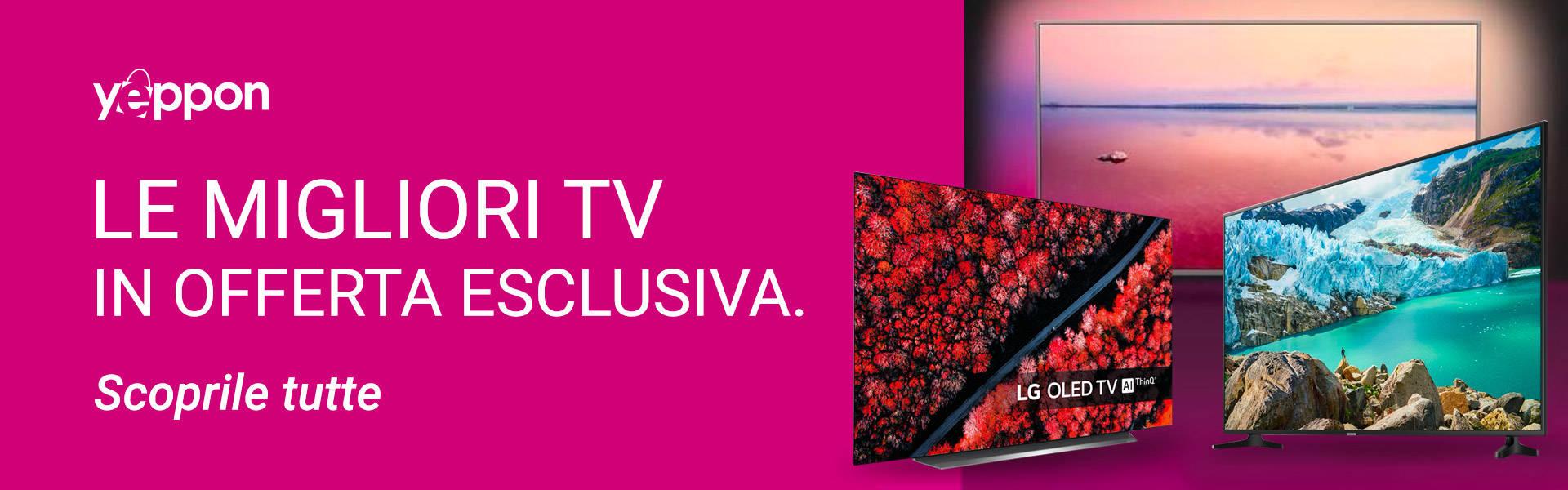 Offerte Yeppon - smart tv - febbraio 2020