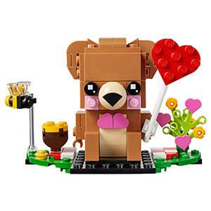 orso di san valentino lego