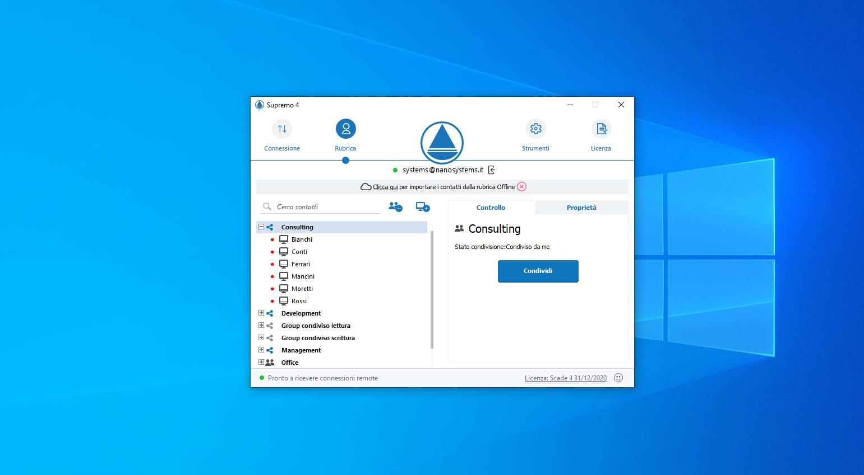 Supremo desktop remoto