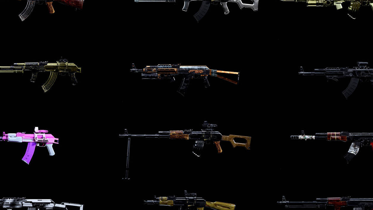 Call of Duty Warzone Armi